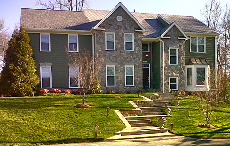 House additions colonial remodeling llc fairfax va for Colonial home additions