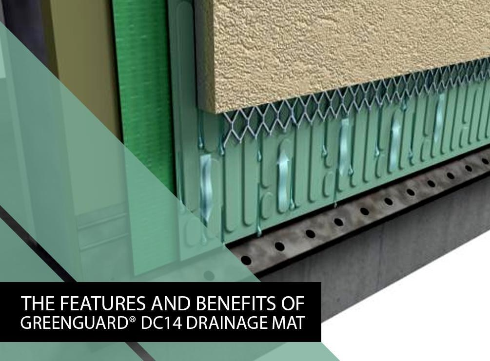 The Features And Benefits Of Greenguard 174 Dc14 Drainage Mat