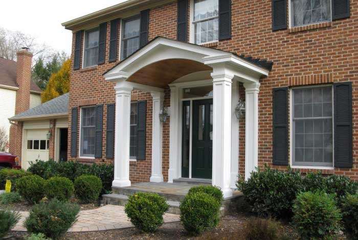 Porticos from Colonial Roofing