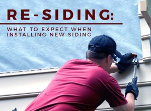 Re-Siding: What to Expect When Installing New Siding