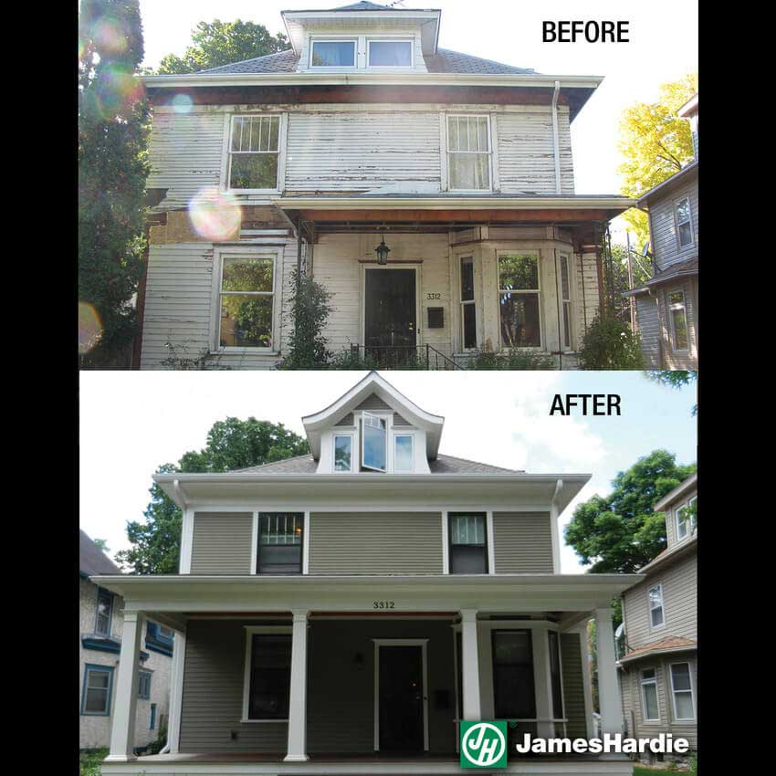 Before and After Full Renovation