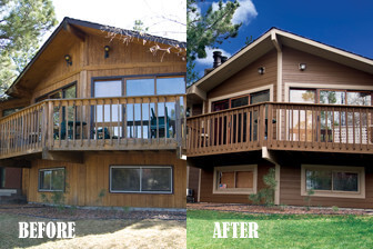 Before and After Exterior Home Repair