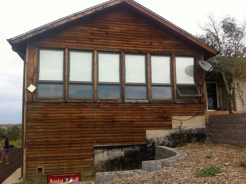 Exterior Cedar Siding Repair
