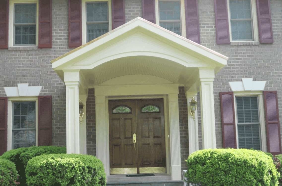 House Front Portico