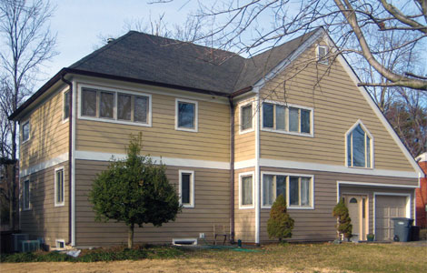 Vinyl Siding Installation in Fairfax VA
