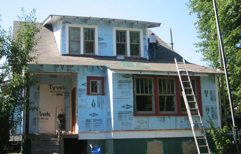 Siding Replacement Process