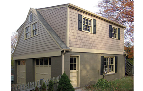 Horizontal and Shingles Siding