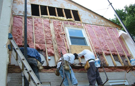 Siding Installation Process