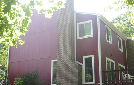 Vertical Siding Replacement