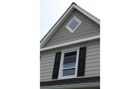 grey horizontal siding