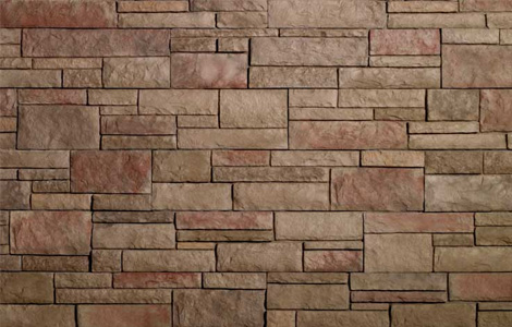 stone veneer construction