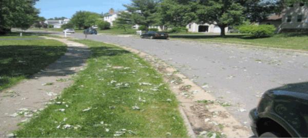 Streetside view