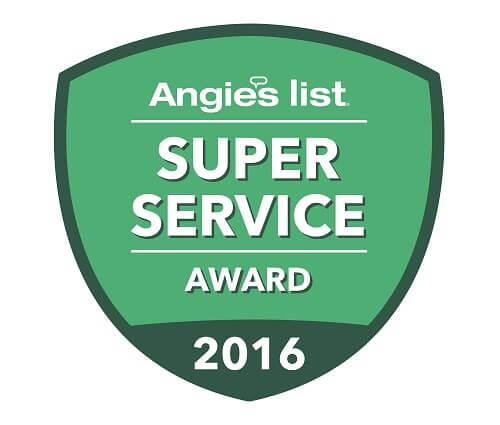 angieslist service award