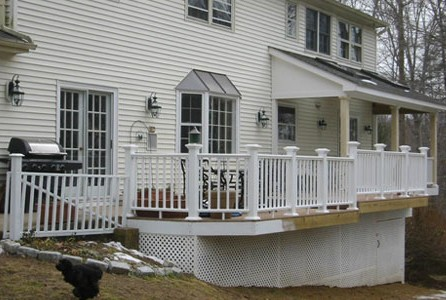 Porch Railing Installation in Alexandria VA