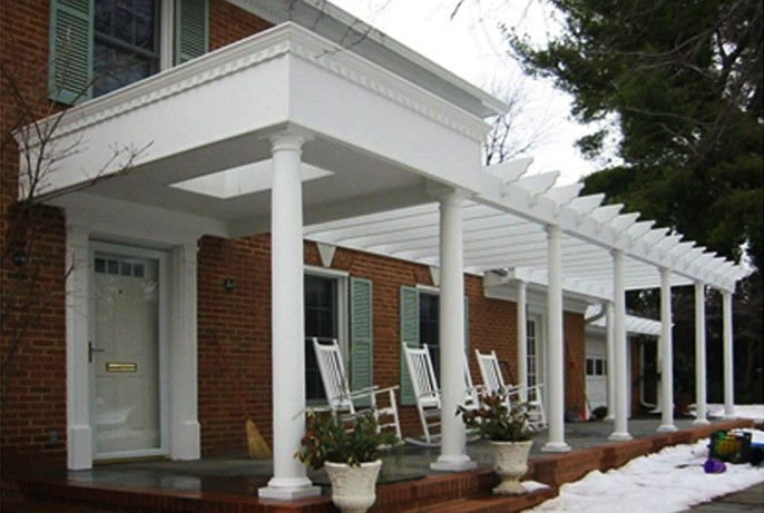 Porch Project in Virginia