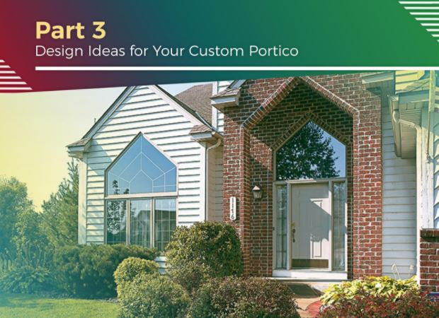 Improving Your Home's Exterior With A Custom Portico Part 48 Best Design Your Home Exterior