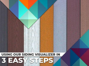 Using Our Siding Visualizer in 3 Easy Steps