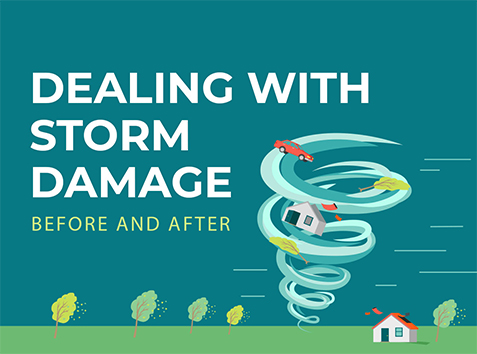 [INFOGRAPHIC] Dealing with Storm Damage: Before and After